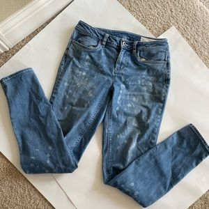 Two By Vince Camuto Spotted Skinny Jeans Size 26/2